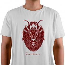 Camiseta Cabra Roja Curban